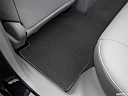 2016 Acura RDX AWD, rear driver's side floor mat. mid-seat level from outside looking in.
