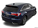 2016 Acura RDX AWD, rear 3/4 angle view.