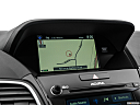 2016 Acura RDX, driver position view of navigation system.