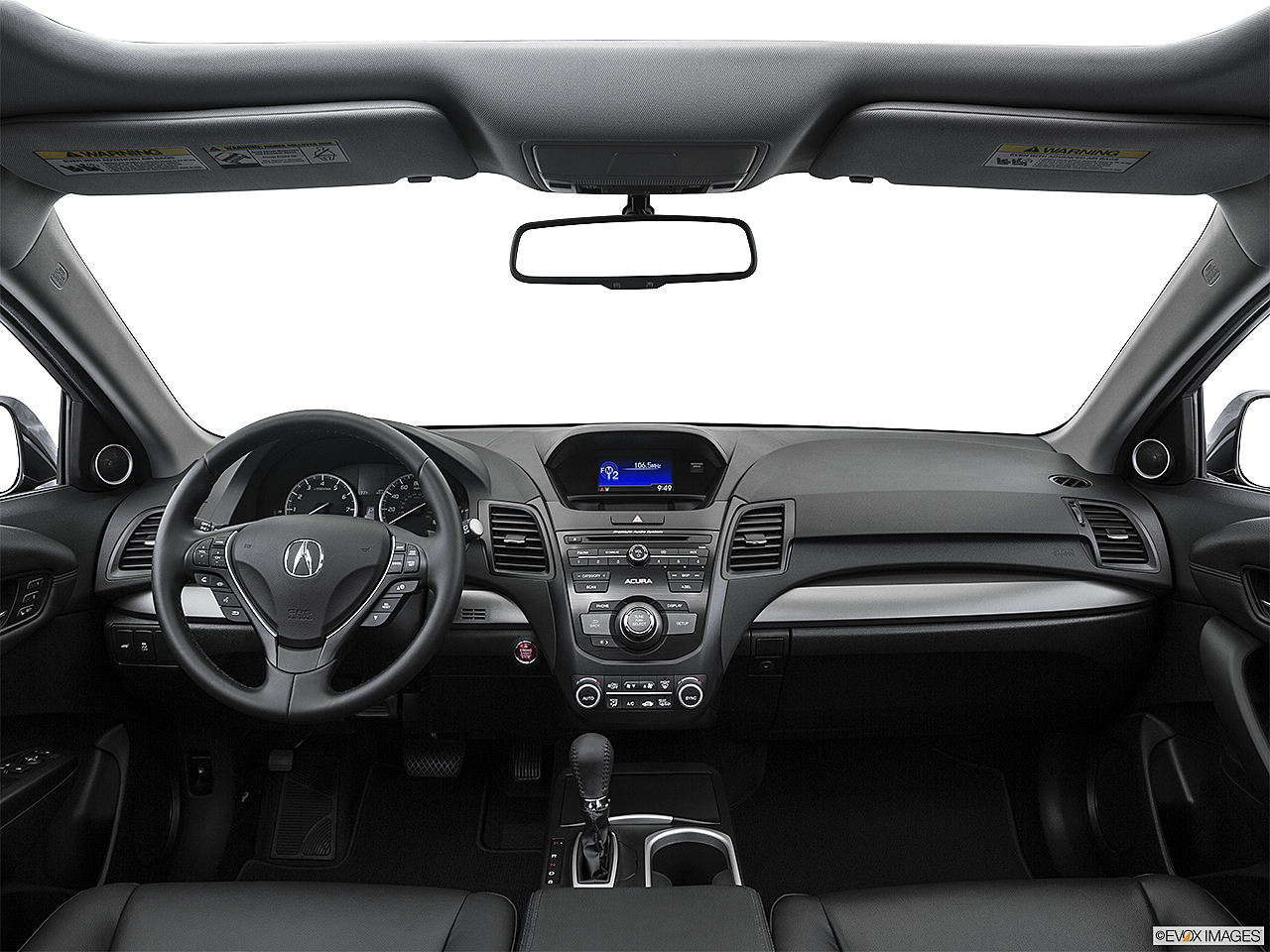 2016 Acura RDX, centered wide dash shot