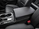 2016 Acura RDX, front center console with closed lid, from driver's side looking down