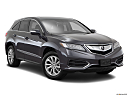 2016 Acura RDX, front passenger 3/4 w/ wheels turned.