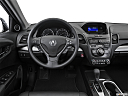 2016 Acura RDX, steering wheel/center console.
