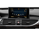 2016 Audi A6 Premium Plus, closeup of radio head unit