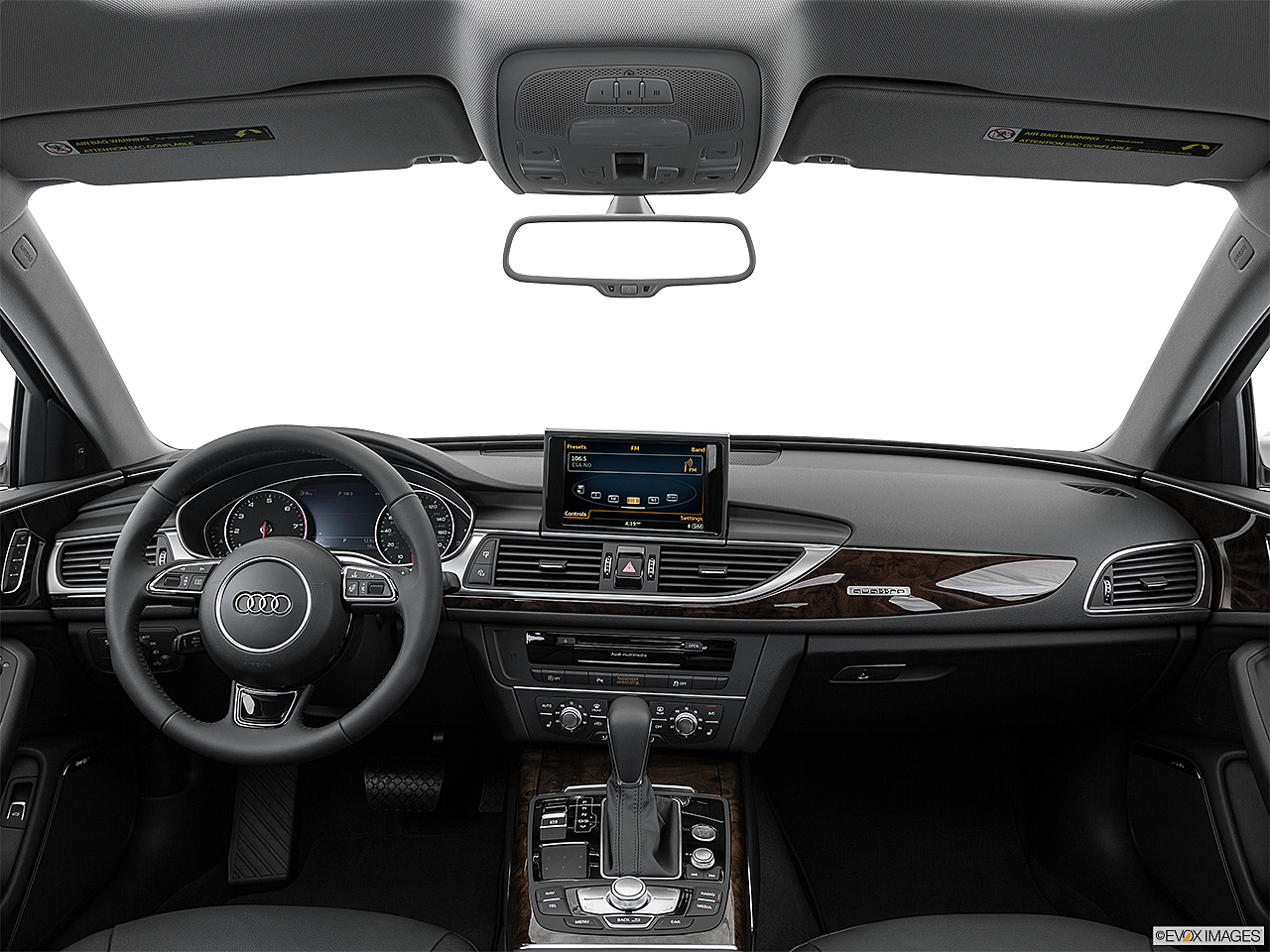 2016 Audi A6 Premium Plus, centered wide dash shot