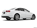 2016 Audi A6 Premium Plus, low/wide rear 5/8.
