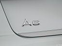 2016 Audi A6 Premium Plus, rear model badge/emblem