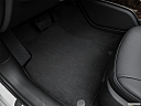 2016 Audi A6 Premium Plus, driver's floor mat and pedals. mid-seat level from outside looking in.