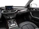 2016 Audi A6 Premium Plus, center console/passenger side.