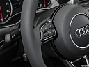 2016 Audi A6 Premium Plus, steering wheel controls (left side)