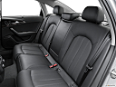 2016 Audi A6 Prestige, rear seats from drivers side.