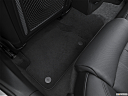2016 Audi A6 Prestige, rear driver's side floor mat. mid-seat level from outside looking in.