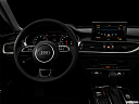 "2016 Audi A6 Prestige, centered wide dash shot - ""night"" shot."