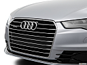 2016 Audi A6 Prestige, close up of grill.
