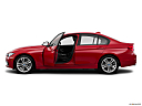 2016 BMW 3-series 320i, driver's side profile with drivers side door open.