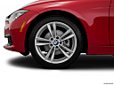 2016 BMW 3-series 320i, front drivers side wheel at profile.