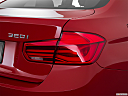 2016 BMW 3-series 320i, passenger side taillight.