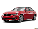 2016 BMW 3-series 320i, front angle medium view.