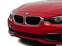2016 BMW 3-series 320i, close up of grill.