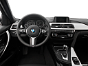 2016 BMW 3-series 320i, steering wheel/center console.