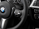 2016 BMW 3-series 320i, steering wheel controls (right side)