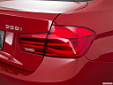 2016 BMW 3-series 328i, passenger side taillight.