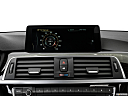 2016 BMW 3-series 328i, closeup of radio head unit