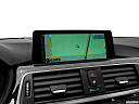 2016 BMW 3-series 328i, driver position view of navigation system.