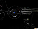 "2016 BMW 3-series 328i, centered wide dash shot - ""night"" shot."