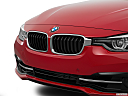2016 BMW 3-series 328i, close up of grill.