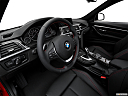 2016 BMW 3-series 328i, interior hero (driver's side).