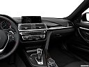 2016 BMW 3-series 328i, center console/passenger side.