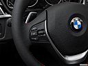 2016 BMW 3-series 328i, steering wheel controls (left side)