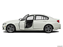 2016 BMW 3-series 330e, driver's side profile with drivers side door open.