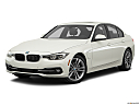 2016 BMW 3-series 330e, front angle medium view.