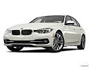 2016 BMW 3-series 330e, front angle view, low wide perspective.