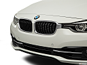 2016 BMW 3-series 330e, close up of grill.