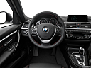 2016 BMW 3-series 330e, steering wheel/center console.