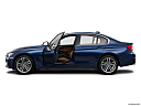 2016 BMW 3-series 340i, driver's side profile with drivers side door open.