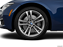2016 BMW 3-series 340i, front drivers side wheel at profile.