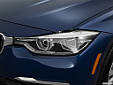 2016 BMW 3-series 340i, drivers side headlight.