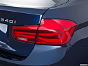 2016 BMW 3-series 340i, passenger side taillight.