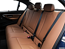 2016 BMW 3-series 340i, rear seats from drivers side.