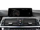 2016 BMW 3-series 340i, closeup of radio head unit