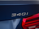 2016 BMW 3-series 340i, rear model badge/emblem