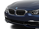 2016 BMW 3-series 340i, close up of grill.
