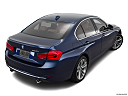2016 BMW 3-series 340i, rear 3/4 angle view.