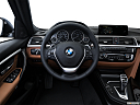 2016 BMW 3-series 340i, steering wheel/center console.
