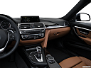2016 BMW 3-series 340i, center console/passenger side.