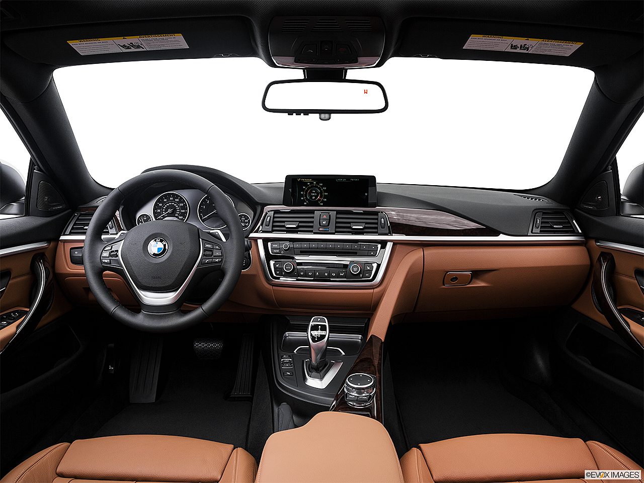 2016 BMW 4 Series 428i Gran Coupe Centered Wide Dash Shot